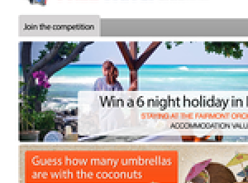 Win a 6 Night Holiday in Hawaii