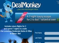 Win a 7 night luxury escape for 2 to Bali