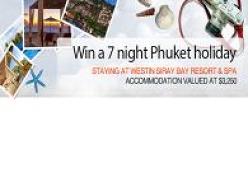 Win a 7 night Phuket Holiday
