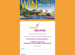 Win a 7-night wellness package at Phuket Cleanse!