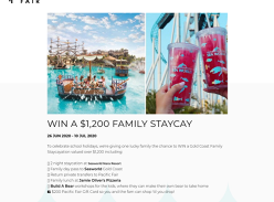 Win a a Gold Coast Family Staycation