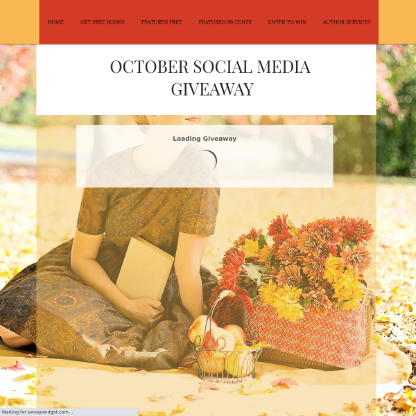 Win a Amazon Gift Card-Book Throne October Social Media Giveaway