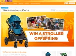 Win a Baby Jogger 'City Select' stroller!