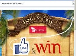 Win a Bali holiday package for 2!