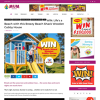 Win a Beach Shack Wooden Cubby House
