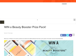Win a Beauty Booster Prize Pack