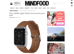 Win a Belkin Apple Watch Accesssories prize pack