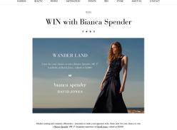Win a 'Bianca Spender' AW 17 wardrobe at David Jones, valued at $2,000!