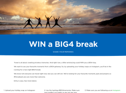 WIN a BIG4 break