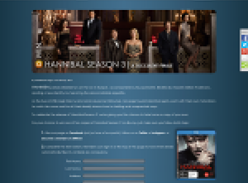 Win a Blu Ray copy of Hannibal Season 3