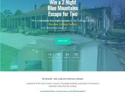 Win a Blue Mountains Weekend Escape for 2 People