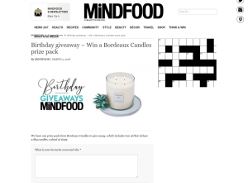 Win a Bordeaux Candles prize pack