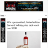 Win a Bottle of 'Personalise Your Own' Starward Whisky & Flask