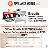 Win a Breville Barista Express Coffee Machine!