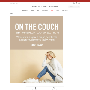 Win a Brosa Design Couch worth $3000!