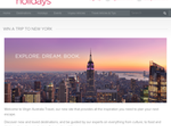 Win a Business Class trip to New York