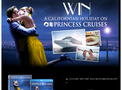 Win a Californian holiday on Princess Cruises!
