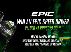 Win a Callaway Epic Speed Driver