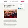 Win a chance to have your Christmas Wish granted