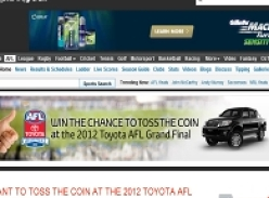 Win a chance to toss the coin at the 2012 AFL Grand Final