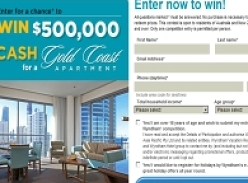 Win a chance to win $500,000