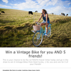 Win a classic vintage bike for you & 5 friends!
