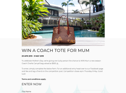 Win a Coach Caryall Bag
