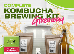 Win a complete Kombucha making kit