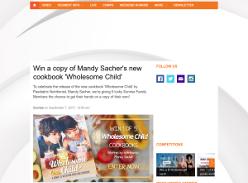 Win a copy of Mandy Sacher's new cookbook