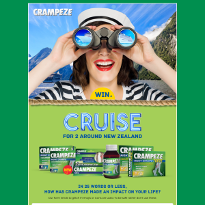 Win A Cruise for 2 around New Zealand