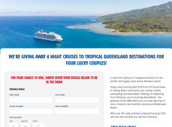 Win a Cruise with Carnival