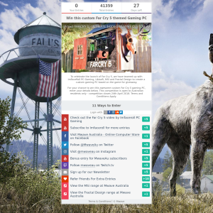 Mwave Win A Custom Far Cry 5 Themed Gaming Pc Competitions Com Au
