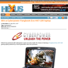 Win a Cyberpower Fangbook Evo HX7-100 laptop!