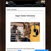 Win a Denny Zager Easy Play Custom Guitar & Deluxe Accessories Package