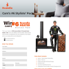 Win a Designer Wood Heater