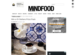 Win a Di Stefano Coffee Prize Pack