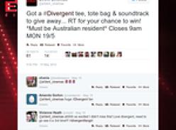 Win a Divergent tee, tote bag & soundtrack