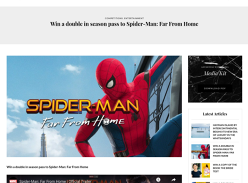 Win a Double In-Season Pass to Spider-Man: Far From Home
