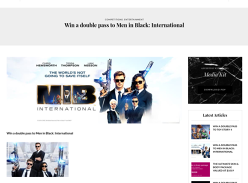 Win a Double Movie Pass to Men in Black: International