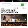 Win a double pass to Ben & Jerry's Openair cinema