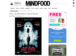Win a double pass to 'Ghost Stories'