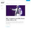 WIN a double pass to see Billy Ocean in either VIC, WA or NSW