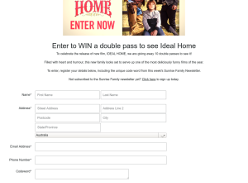 Win a double pass to see Ideal Home