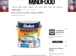 Win a Dulux Voucher