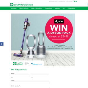 Win A Dyson Pack