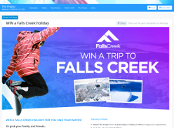 Win a Falls Creek holiday