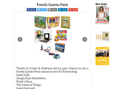 Win a Family Board Game Bundle
