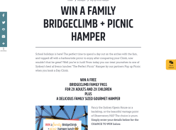 Win a Family BridgeClimb & Picnic Hamper