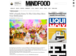 Win a Family Entry To The Color Run Hero Tour Melbourne