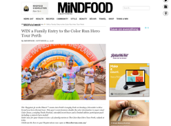 Win a Family Entry to the Color Run Hero Tour Perth